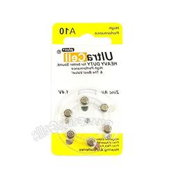 60 pcs Zinc Air Hearing Aid Battery Size 10 A10 AC10 P10 PR1