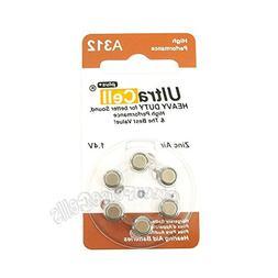 120 x Zinc Air Hearing Aid Battery 312 A312 PR41 7002ZD 312A