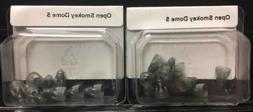 2 Packs of Open Smokey Domes Small For Phonak Hearing Aids.
