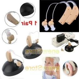 2 Rechargeable acousticon Behind Ear Hearing Aid/Aids Audiph