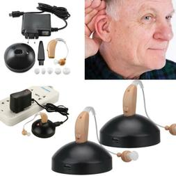 2 rechargeable digital hearing aid severe loss