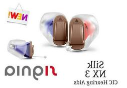 New 2020 Pair of Siemens Signia Silk 3NX INSTANT FIT CIC Hea