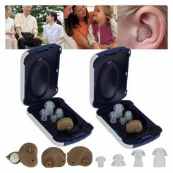 Small In Ear Invisible Best Sound Amplifier Adjustable Tone