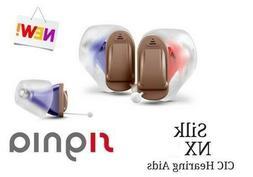 New 2020 Pair of Siemens Signia Silk 7NX INSTANT FIT CIC Hea
