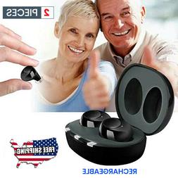 .2020 Rechargeable MIni Hearing Aids In the Ear Amplifier So
