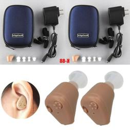 New Rechargeable Digital Hearing Aids Mini In Ear Adjustable
