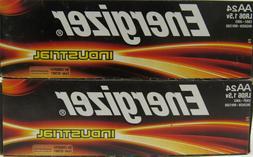 Energizer  AA Industrial Batteries Alkaline Battery ~48 Coun