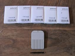 5-PACKS CERUSTOP WAX GUARDS FOR PHONAK/UNITRON HEARING AIDES