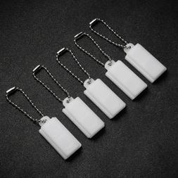 5PCS Hearing Aid Battery Case Lightweight PP Plastic Battery