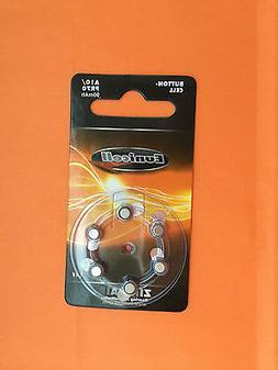 6 New Size 10 A10 10 10A 1.4V Zinc-Air Hearing Aid battery