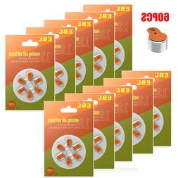 60 packs zinc air hearing aid battery