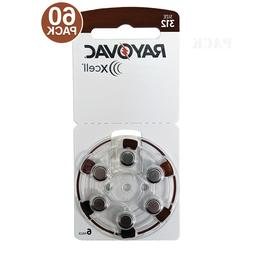 Rayovac Xcell Size 312 Zinc Air MF Hearing Aid Batteries