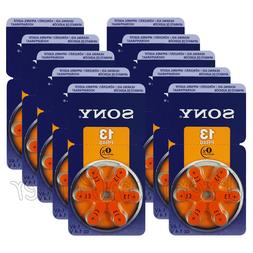 60 x hearing aid 13 size batteries