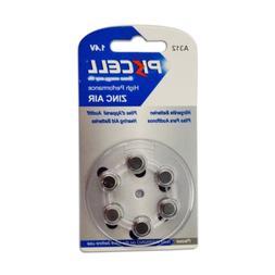 6pcs Zinc Air Hearing Aid Battery 312 A312 PR41 7002ZD 312A