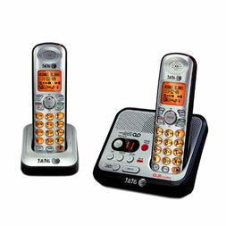 AT&T EL52200 2-Handset DECT 6.0 Cordless Phone with Digital