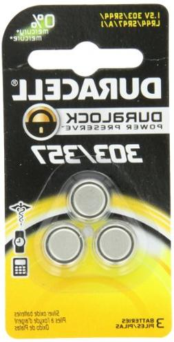 Duracell – 303/357 1.5V Silver Oxide Button Battery – lo
