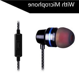 Insaneness QKZ DM 3.5mm Stereo Jack Headphones with Enhanced