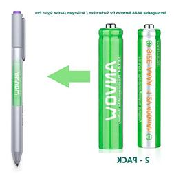 AAAA Batteries, ANVOW Rechargeable AAAA Batteries for Surfac