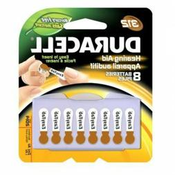 Duracell Activair Hearing Aid Batteries: Size 312 , Brown