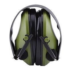 Active Noise Reduction Earmuffs Headset Hearing Protector Ea