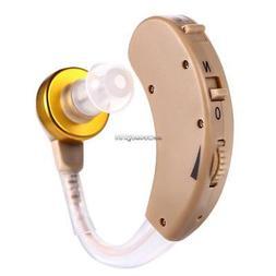 Adjustable Behind Ear Hearing Aid/Aids Adjust Volume Light W