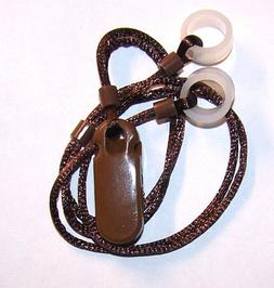 ADULT'S 2 Hearing Aids longer Leash RETAINER CLIP LOSS for 2
