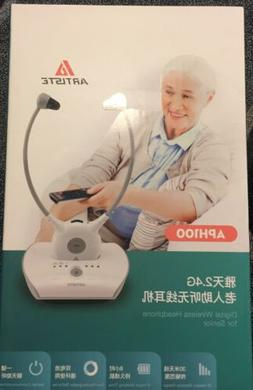 Artiste APH100 Wireless Hearing Aid system 2.4G TV Assistive