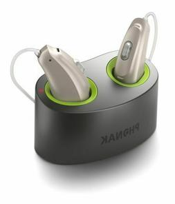 Phonak Audeo Belong Naida B50-R Rechargeable Hearing Aid +Ch