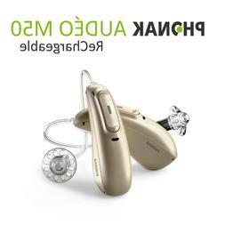 Phonak Audeo Marvel Hearing Aids M50 - Rechargeable - Blueto