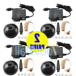 Behind Ear Hearing Aid/Aids Rechargeable Acousticon Audiphon