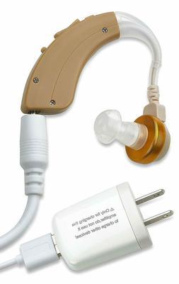 NewEar Behind The Ear Sound Amplifier - Rechargable BTE Hear