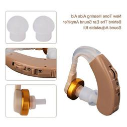 Behind The Ear Hearing Aid Best Small Invisible Sound Amplif