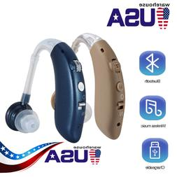 Bluetooth Hearing Aid Rechargeable Mini Digital Hearing Aids
