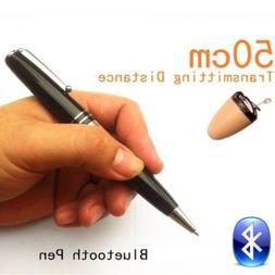 TechPier® Bluetooth Pen Earpiece Spy Kit Hidden Wireless In