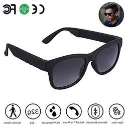 Bone Conduction Glasses, VocalSkull Smart Sunglasses Wireles
