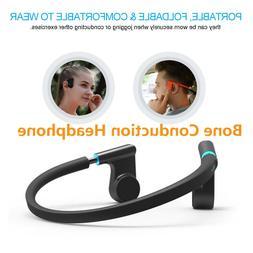 Bone Conduction Hearing Aids Waterproof Sound Amplifier Blue