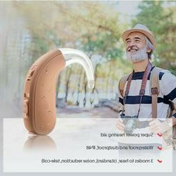 Brand New Digital Hearing Aid Amplifier, Small Behind Ear, D