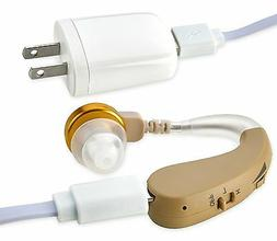 bte ear hearing amplifier rechargeable