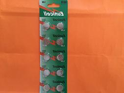 50 X Card AG13 SR44 LR44 A76 L1154 1.5 Alkaline Battery SHL