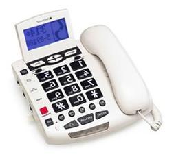 CLEAR SOUNDS - Amplified BigButton Spkrphone 50dB White