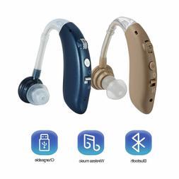 Comfortable Digital Hearing Aid Severe Loss Invisible BTE Ea