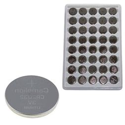 40 Pack Camelion CR2032 3 Volt Lithium Coin Button Cell Batt