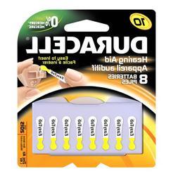 Duracell DA10B8ZM10 Easy Tab Hearing Aid Zinc Air Battery, 1