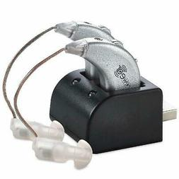 Digital Hearing Aids USB Rechargeable Pair Sound Amplifier B