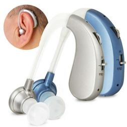 Digital Rechargeable Hearing Aid Severe Loss BTE Ear Aids HI