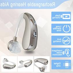 digital rechargeable hearing aid severe loss invisible