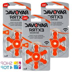 RAYOVAC EXTRA ADVANCED SIZE 13 MF PR48 HEARING AID BATTERIES