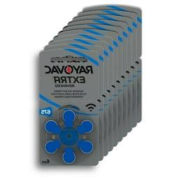 Rayovac Extra Advanced, size 675 Hearing Aid Battery Pack of