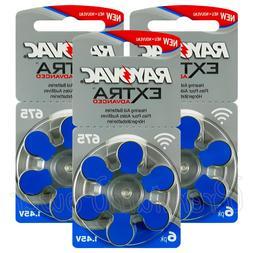 Rayovac Extra Hearing Aid 675 Size batteries Zinc air Mercur