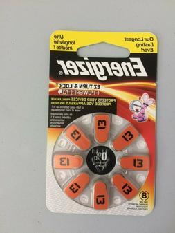 Energizer EZ Turn & Lock Powerseal Size 13 Hearing Aid Batte